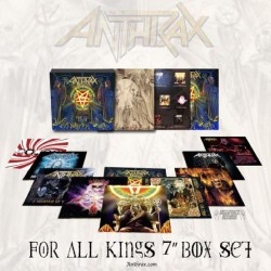 "Anthrax - For All Kings - 10 x 7"" BOX SET"