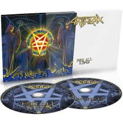 Anthrax - For All Kings - 2CD DIGISLEEVE SLIPCASE