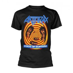 Anthrax - State Of Euphoria - T-shirt (Homme)