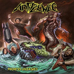 Antipeewee - Madness Unleashed - CD DIGIPAK