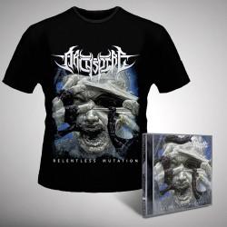Archspire - Relentless Mutation - CD + T-shirt bundle (Homme)