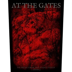 At The Gates - To Drink From The Night Itself - BACKPATCH