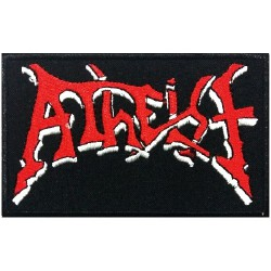 Atheist - Logo - EMBROIDERED PATCH