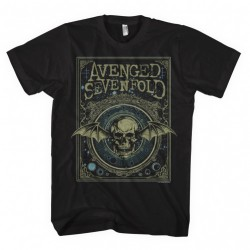 Avenged Sevenfold - Ornate Death Bat - T-shirt (Homme)