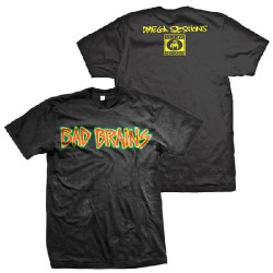 Bad Brains - Omega Sessions - T-shirt (Men)