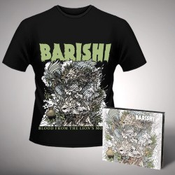 Barishi - Blood From The Lion's Mouth - CD DIGIPAK + T-shirt bundle (Homme)