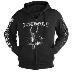 Bathory - Goat - Hooded Sweat Shirt Zip (Homme)