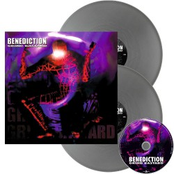 Benediction - Grind Bastard - DOUBLE LP GATEFOLD COLOURED + CD