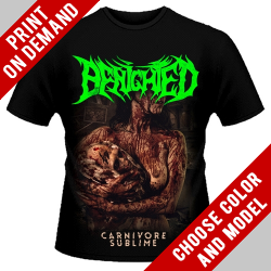 Benighted - Carnivore Sublime [back] - Print on demand