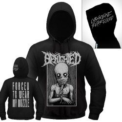 Benighted - Muzzle - Hooded Sweat Shirt Zip (Homme)