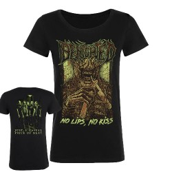 Benighted - No Lips, No Kiss - T-shirt (Femme)