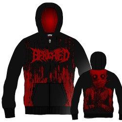 Benighted - Obscene Repressed - Hooded Sweat Shirt Zip (Homme)