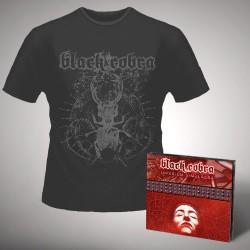 Black Cobra - Imperium Simulacra - CD DIGIPAK + T-shirt bundle (Homme)