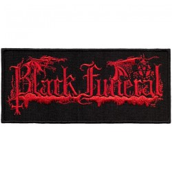 Black Funeral - Logo - EMBROIDERED PATCH