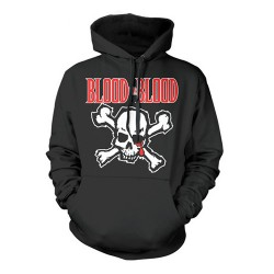 Blood For Blood - Skull - Hooded Sweat Shirt (Homme)