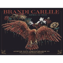 Brandi Carlile - Austin City Limits Season 44 - Lithograph