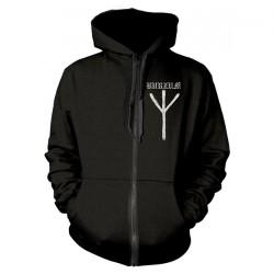 Burzum - Rune - Hooded Sweat Shirt Zip (Homme)