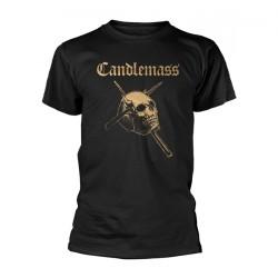 Candlemass - Gold Skull - T-shirt (Homme)