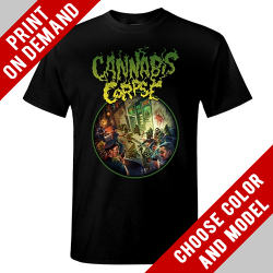 Cannabis Corpse - Nug Critters - Print on demand