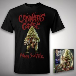 Cannabis Corpse - Nug So Vile - CD DIGIPAK + T-shirt bundle (Homme)