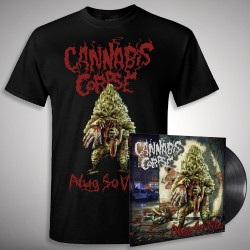 Cannabis Corpse - Nug So Vile - LP + T-Shirt bundle (Homme)