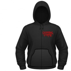 Cannibal Corpse - A Skeletal Domain - Hooded Sweat Shirt Zip (Homme)