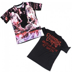 Cannibal Corpse - Butchered At Birth - T-shirt allover (Homme)
