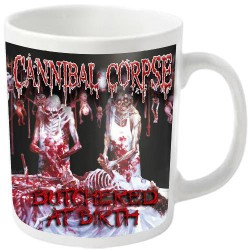 Cannibal Corpse - Butchered (White) - MUG