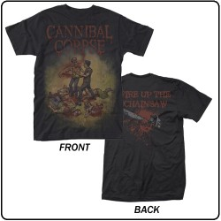 Cannibal Corpse - Chainsaw - T-shirt (Homme)