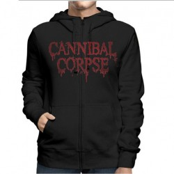 Cannibal Corpse - Red Before Black - Hooded Sweat Shirt Zip (Homme)