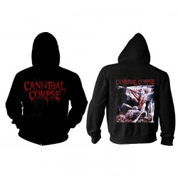 Cannibal Corpse - Tomb Of The Mutilated - Hooded Sweat Shirt Zip (Homme)