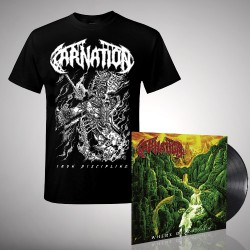 Carnation - Where Death Lies - LP + T-Shirt bundle (Homme)
