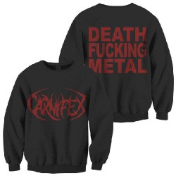 Carnifex - Death Fucking Metal - Sweat shirt (Men)