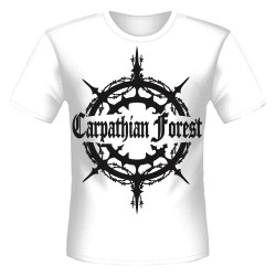 Carpathian Forest - Evil Egocentrical Existencialism (White) - T-shirt (Homme)