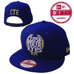 Close Your Eyes - Close Your Eyes (Blue And Gold) - New Era Cap