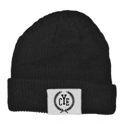 Close Your Eyes - Wreath Logo - Beanie Hat
