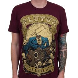 Clutch - Decapitation Blues (Maroon) - T-shirt (Homme)