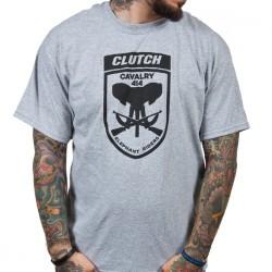Clutch - Elephant Riders (Heather Grey) - T-shirt (Homme)