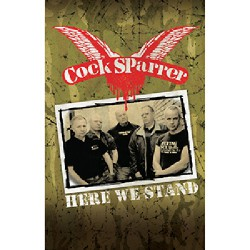 Cock Sparrer - Here We Stand - CASSETTE COLOURED