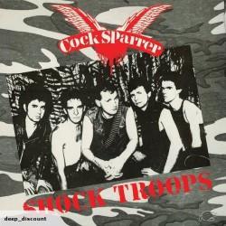 Cock Sparrer - Shock Troops - LP COLOURED