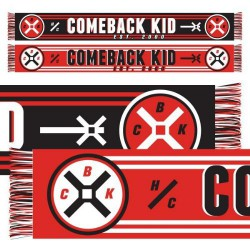 Comeback Kid - H/C Scarf Red - Scarf