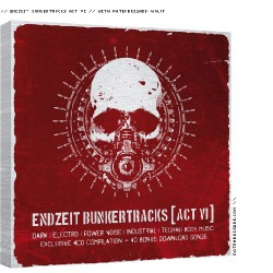 Various Artists - Endzeit Bunkertracks Act VI - 4CD BOX