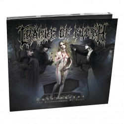 Cradle Of Filth - Cryptoriana - The Seductiveness Of Decay - CD DIGIPAK