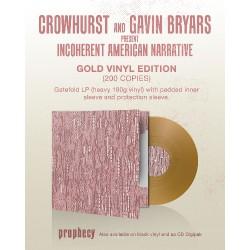 Crowhurst And Gavin Bryars - Crowhurst And Gavin Bryars Present Incoherent American Narrative - LP Gatefold Coloured