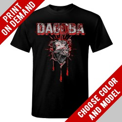 Dagoba - Barb wired heart - Print on demand