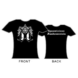 Dark Opus - Ignominious Fundamentals - T-shirt (Women)