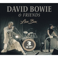 David Bowie & Friends - Live Box - 3CD DIGISLEEVE