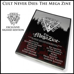 Dayal Patterson - Cult Never Dies : The Mega Zine - BOOK