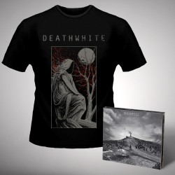 Deathwhite - For A Black Tomorrow - CD DIGIPAK + T-shirt bundle (Homme)