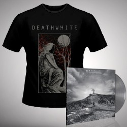 Deathwhite - For A Black Tomorrow - LP gatefold coloured + T-shirt bundle (Homme)